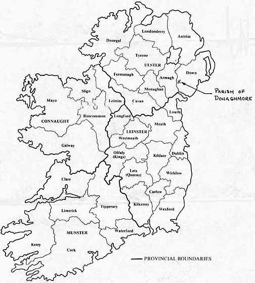 Map Of Northern Ireland Counties.Map Of North Ireland